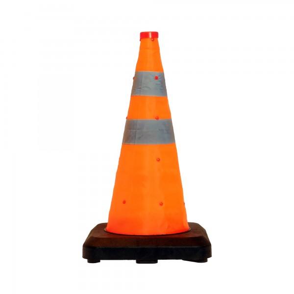 LED-MARTIN®Faltleitkegel 50cm - Unfallabsicherung - Absperrung - Umleitung - Straßensicherheit