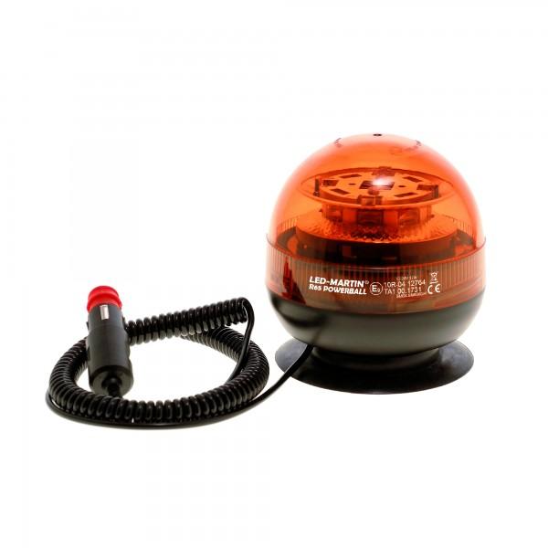 R65 PowerBall Rundumkennleuchte - mit Magnetfuß - 4m Kabel