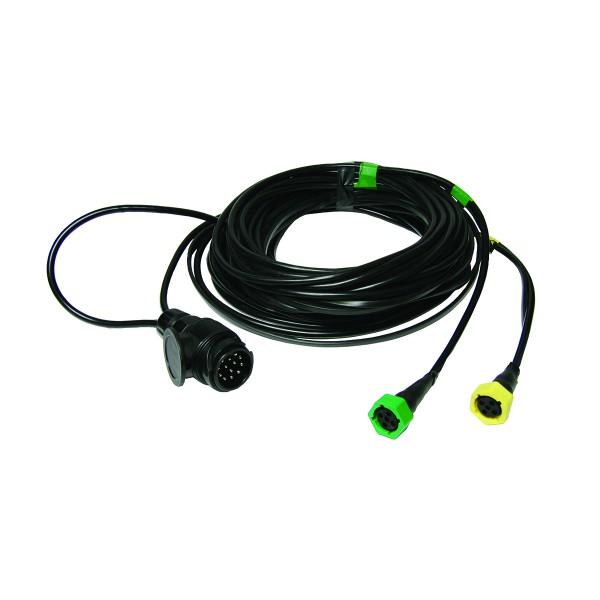 Kabelsatz Anhänger Beleuchtung - 5m - 13Pol - 5P Bajonett