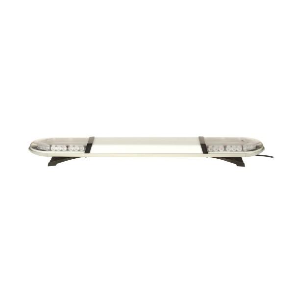 ASTERO LED Warnbalken - 119cm mit Mittelteil - klar/gelb