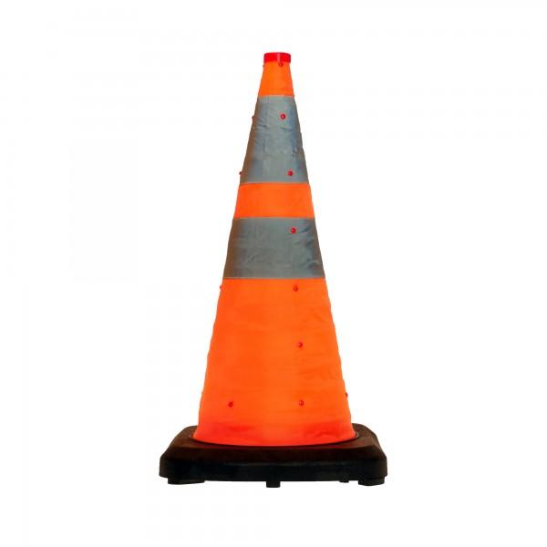 LED-MARTIN®Faltleitkegel 70cm - Unfallabsicherung - Absperrung - Umleitung - Straßensicherheit