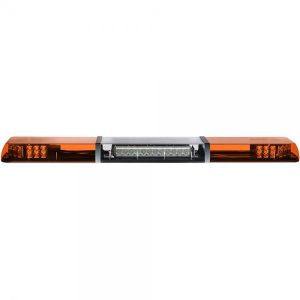 MAGMA FUSION LED Lichtbalken mit Arbeitsscheinwerfer - einseitig - 140cm - gelb
