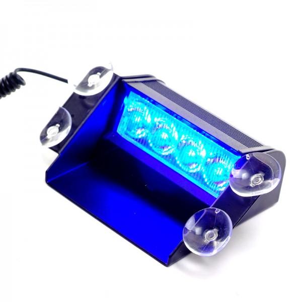 4W LED Straßenräumer- blau