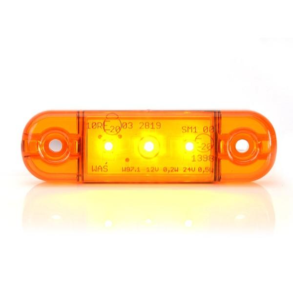 Umrissleuchte - orange - 12V/24V