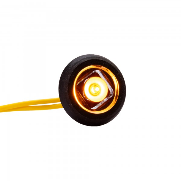 Seitenmarkierungsleuchte BE20 - gelb - rund - versenkbar