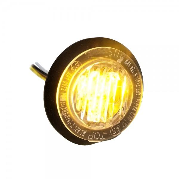 Xpro3 Blitzmodul - gelb - versenkbar - rund