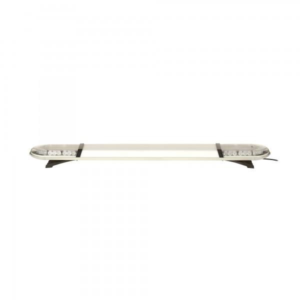 ASTERO LED Warnbalken - 149cm mit Mittelteil - klar/gelb