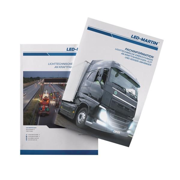 Broschüre   Lichttechnische Einrichtungen an Fahrzeugen >3,5T