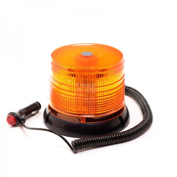 Rundumleuchte 12V/24V - Orange - Magnetfuß