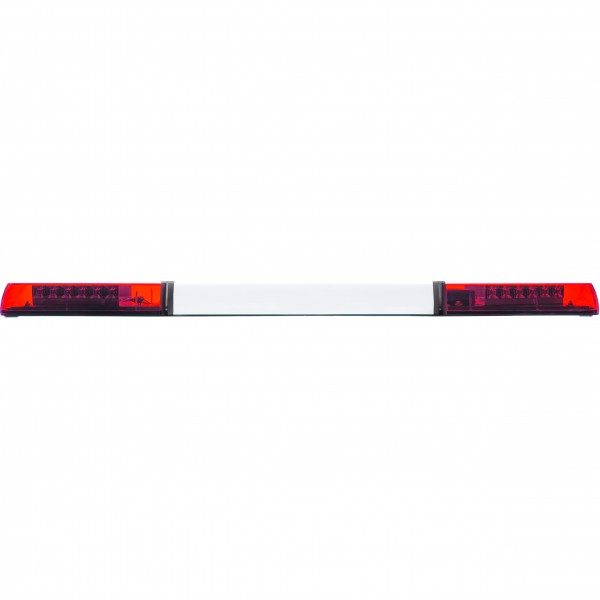 MAGMA LED Lichtbalken 120cm mit Mittelteil - Rot