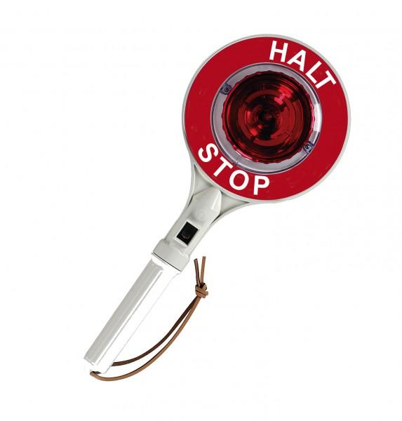 LED-Anhaltestab - Halt Stop - beidseitig rot