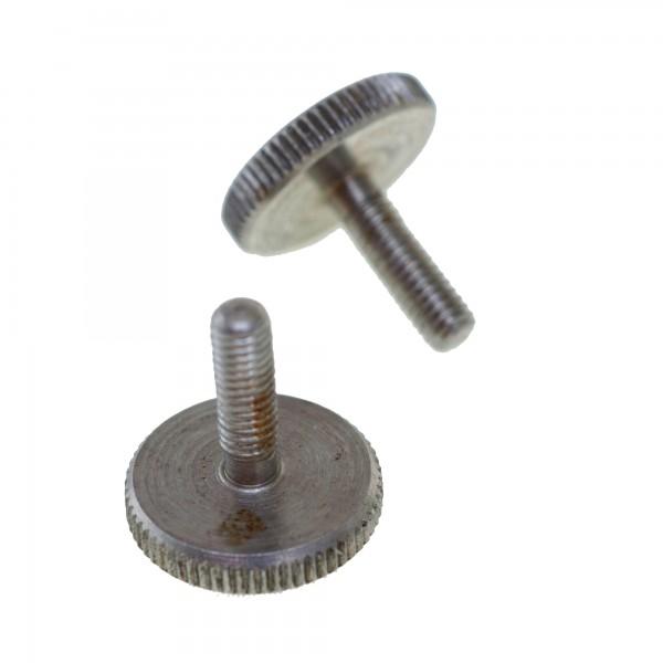 Rändelschrauben für das Batteriefach der M-Fire Winkelkopftaschenlampe