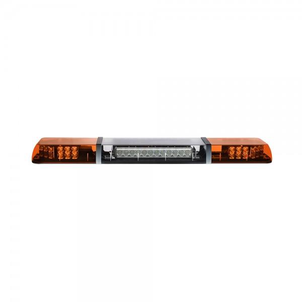 MAGMA FUSION LED Lichtbalken mit Arbeitsscheinwerfer - beidseitig - 110cm - gelb