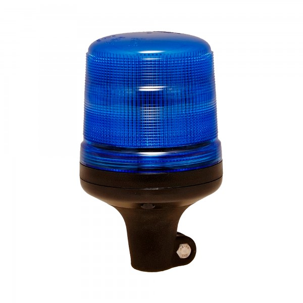 Rundumleuchte VALOR - 11 Blitzmuster - blau - DIN-Aufnahme