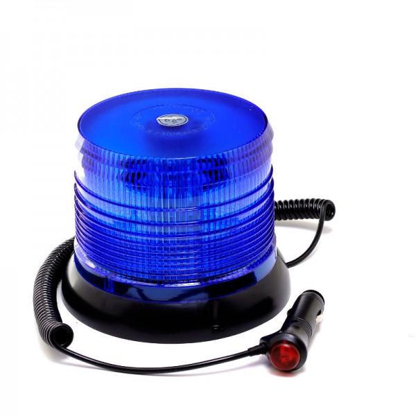 Rundumleuchte 12V/24V- Blau - Magnetfuß