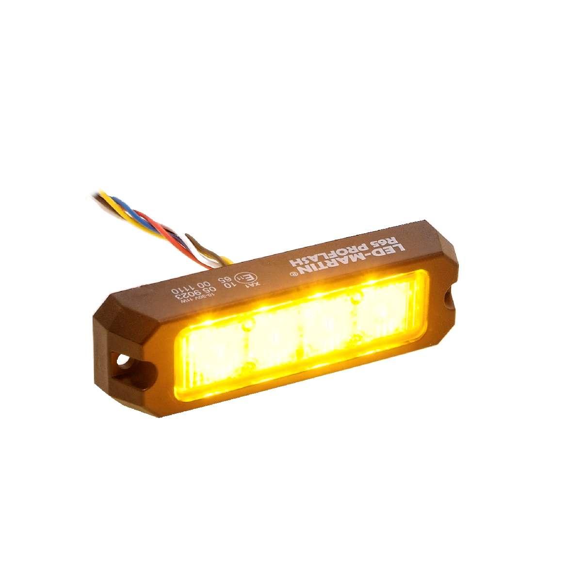 super flach mit ECE-R65 12V 24V 2er Sparset LED-MARTIN® R65 Blitzmodul SF6