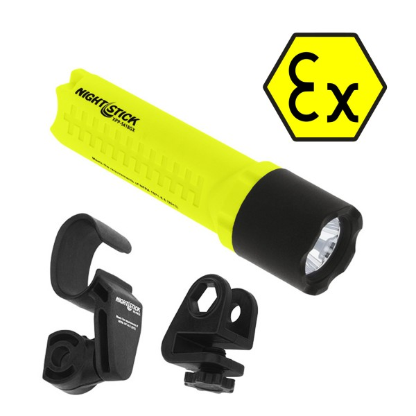 Nightstick Helmlampe inkl. Haltersatz - ATEX - XPP-5418GX-K01