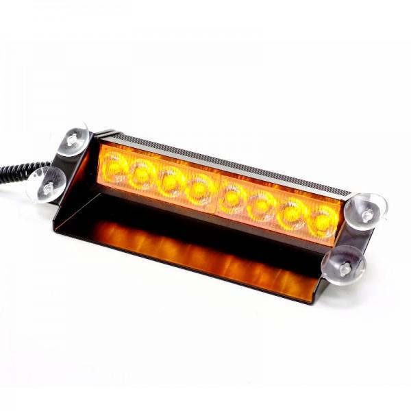 8W LED Straßenräumer- orange
