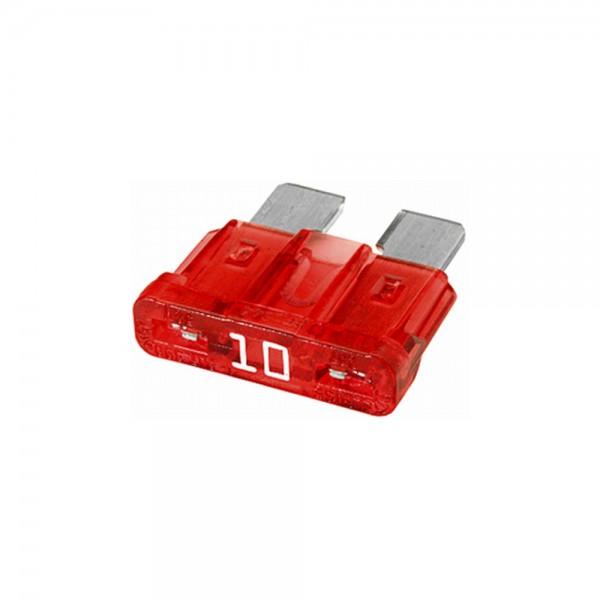 10A Flachstecksicherung - rot - DIN 72581-3c - 5er Set