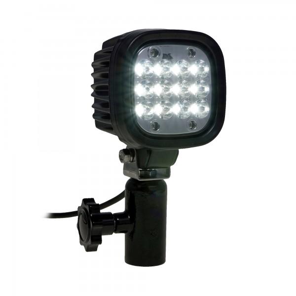 Suchscheinwerfer 62W mit DIN Halter für DIN14690 Aufnahme